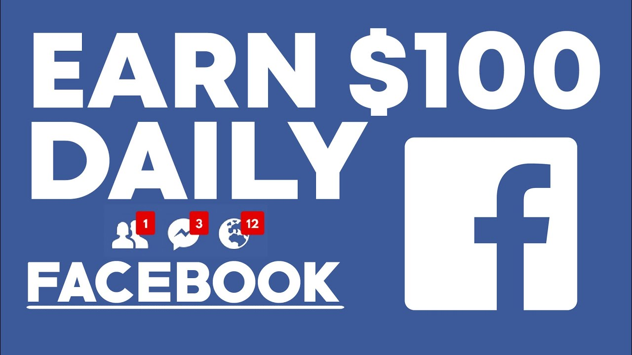 How To Earn Money From Facebook Log In To My Account